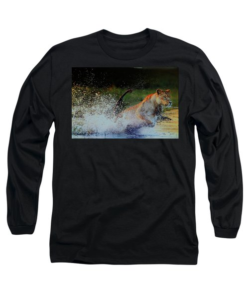 Lioness In Motion Long Sleeve T-Shirt