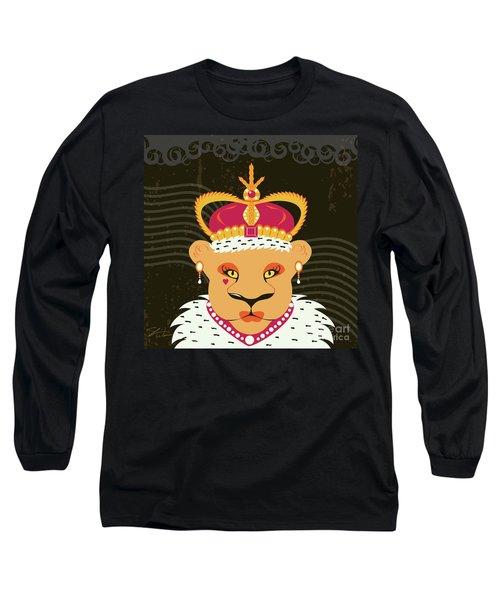 Lioness Queen Long Sleeve T-Shirt
