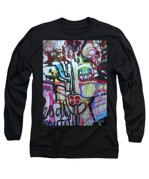 Lips Made Of Steel Long Sleeve T-Shirt