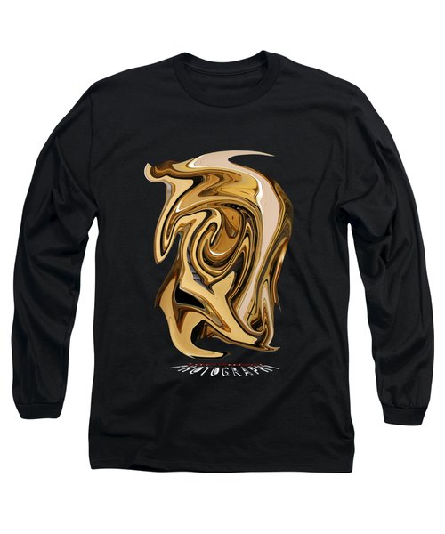 Liquid Gold Transparency Long Sleeve T-Shirt
