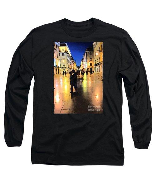 Lisbon Love Long Sleeve T-Shirt by Tom Wurl