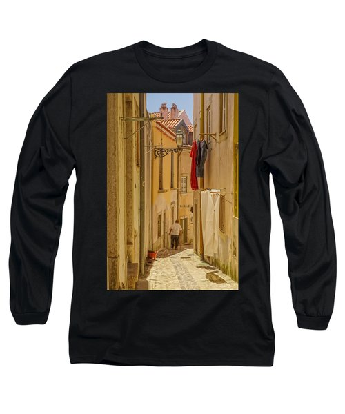 Lisbon Street # 1 Long Sleeve T-Shirt