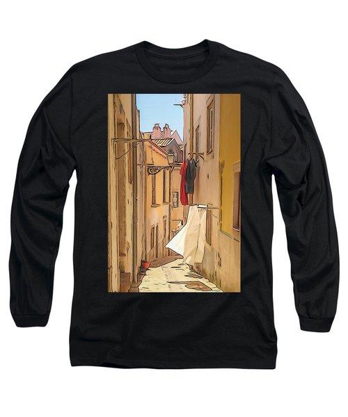 Lisbon Street #2 Long Sleeve T-Shirt