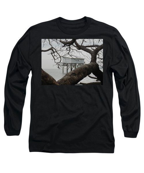 Little Blue Gone But Not Forgotten Long Sleeve T-Shirt by Patricia Greer