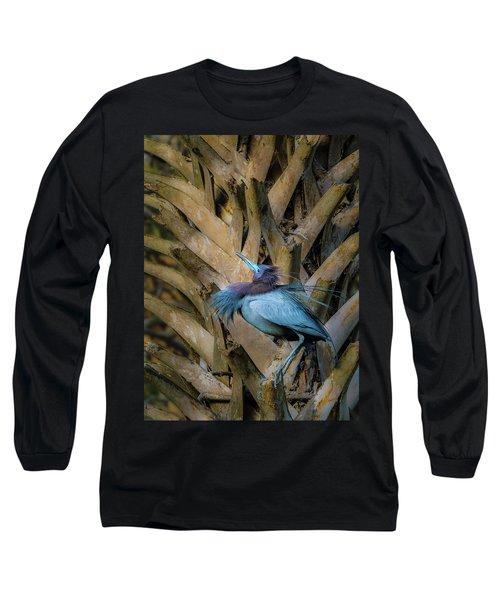 Little Blue Heron Long Sleeve T-Shirt
