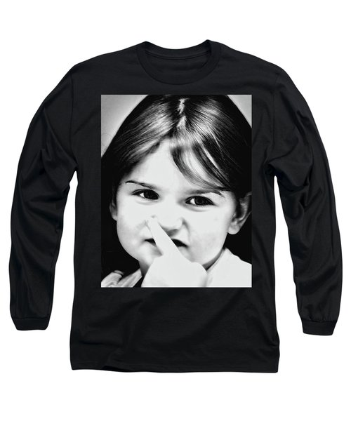 Little Emma Long Sleeve T-Shirt by Rena Trepanier