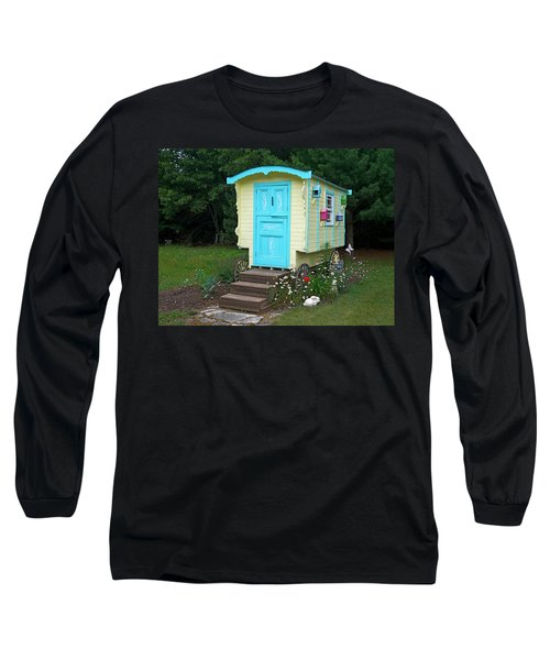 Little Gypsy Wagon II Long Sleeve T-Shirt by Judy Johnson