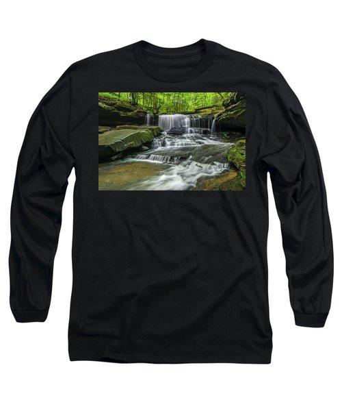 Little Mudlick Falls Long Sleeve T-Shirt by Ulrich Burkhalter