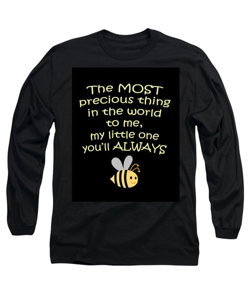Little One You'll Always Bee Print Long Sleeve T-Shirt