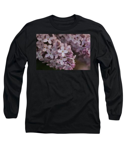 Long Sleeve T-Shirt featuring the photograph Little Pink Stars by Christin Brodie