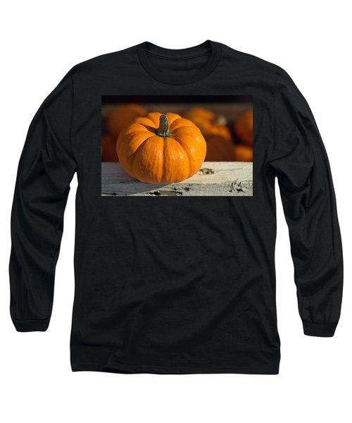 Little Pumpkin Long Sleeve T-Shirt by Joseph Skompski