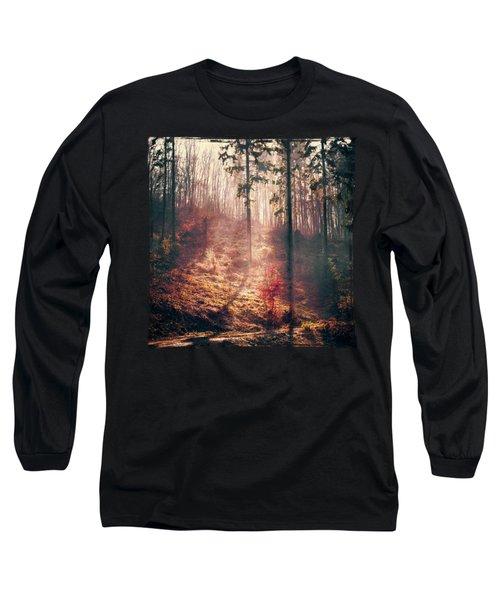 Little Red Tree Long Sleeve T-Shirt