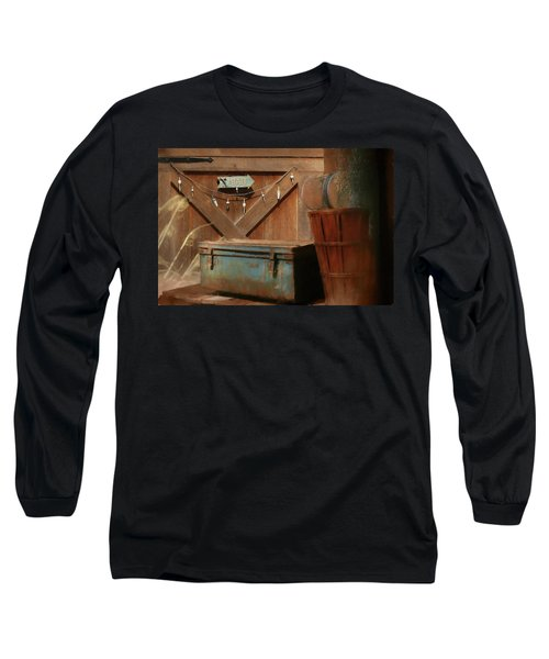 Long Sleeve T-Shirt featuring the photograph Live Bait by Lori Deiter