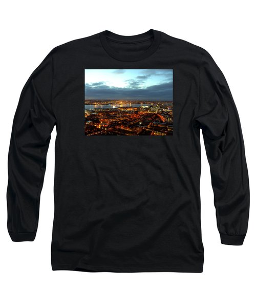 Liverpool City And River Mersey Long Sleeve T-Shirt