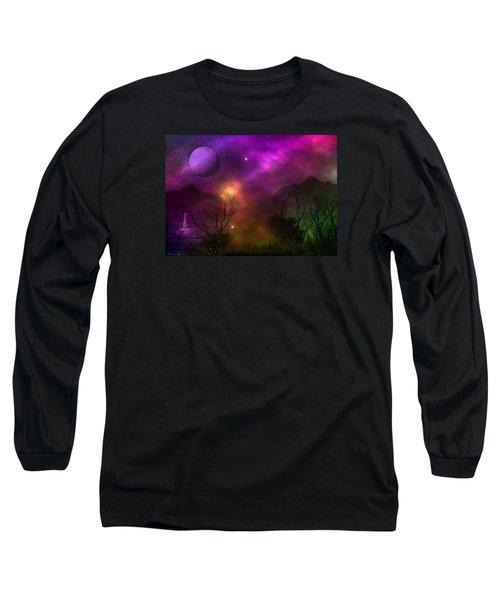 Living In Oz Long Sleeve T-Shirt by Bernd Hau