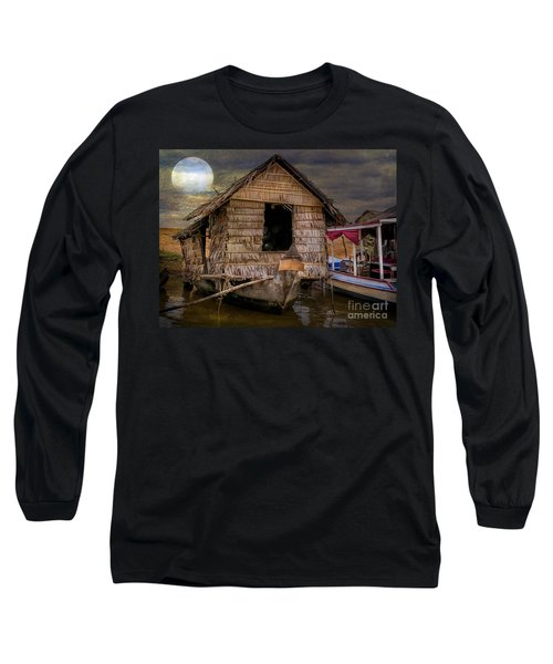 Living On The River Long Sleeve T-Shirt