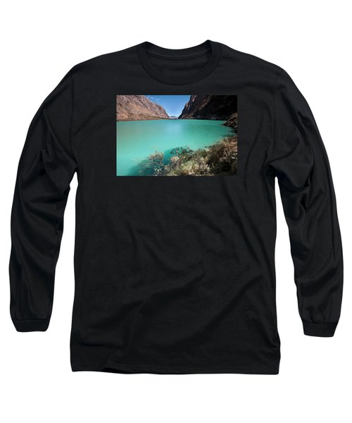 Llanganuco Lakes Long Sleeve T-Shirt