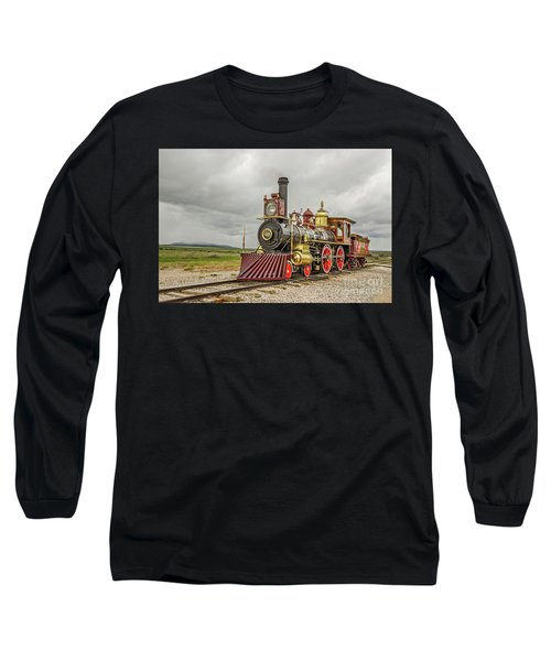 Locomotive No. 119 Long Sleeve T-Shirt by Sue Smith