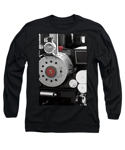 Locomotive Number Five Long Sleeve T-Shirt