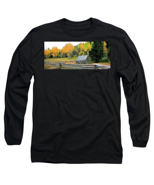 Log Cabin Long Sleeve T-Shirt