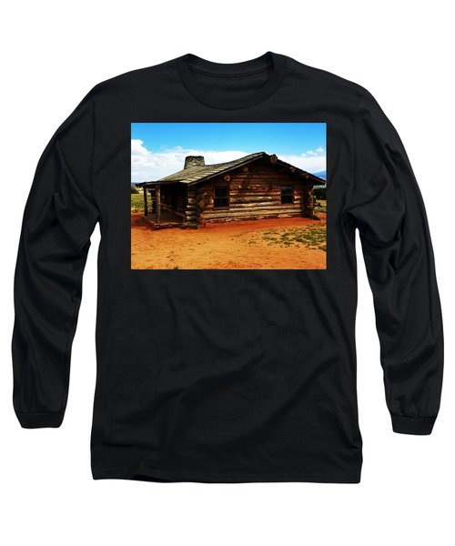 Log Cabin Yr 1800 Long Sleeve T-Shirt