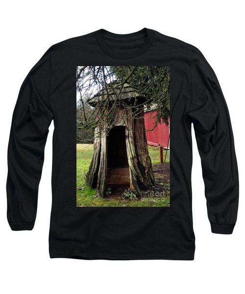 Loggers Outhouse Long Sleeve T-Shirt
