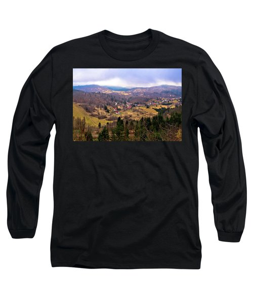 Lokve Valley In Gorski Kotar View Long Sleeve T-Shirt