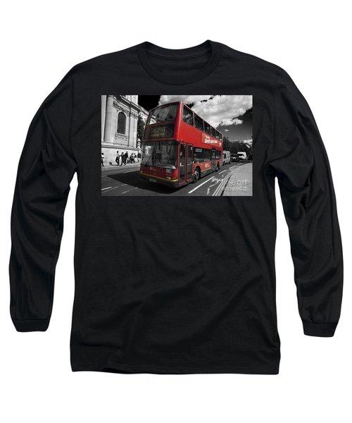 London Bus Long Sleeve T-Shirt