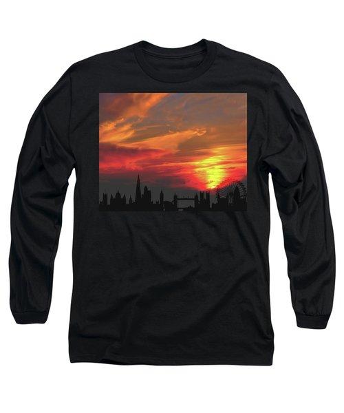 Sunset London Long Sleeve T-Shirt