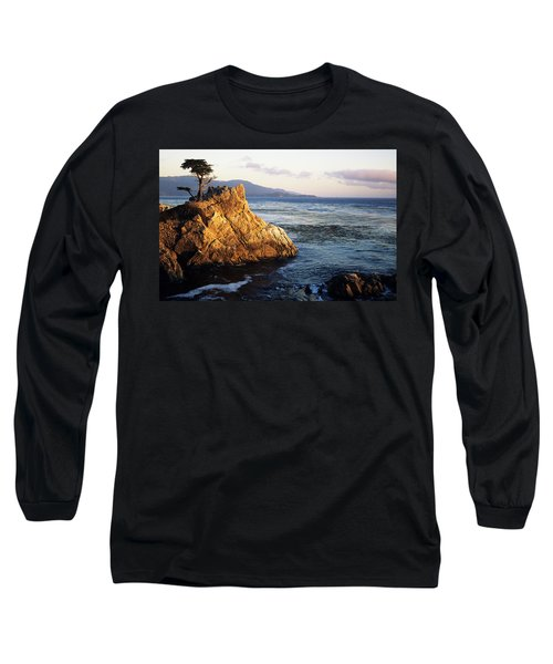 Lone Cypress Tree Long Sleeve T-Shirt by Michael Howell - Printscapes