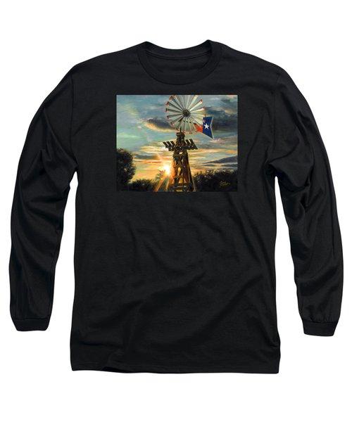 Lone Star Sky Long Sleeve T-Shirt