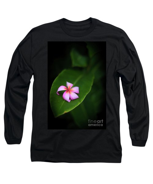 Fallen Plumeria Long Sleeve T-Shirt