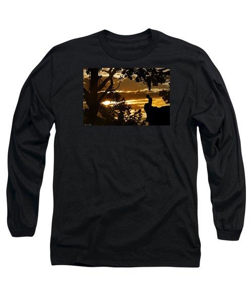 Lonely Prayer Long Sleeve T-Shirt by Bernd Hau