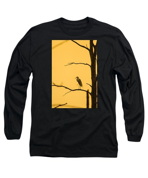 Lonely Silhouette Long Sleeve T-Shirt