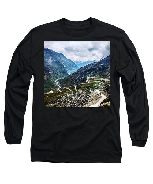 Long And Winding Roads Long Sleeve T-Shirt