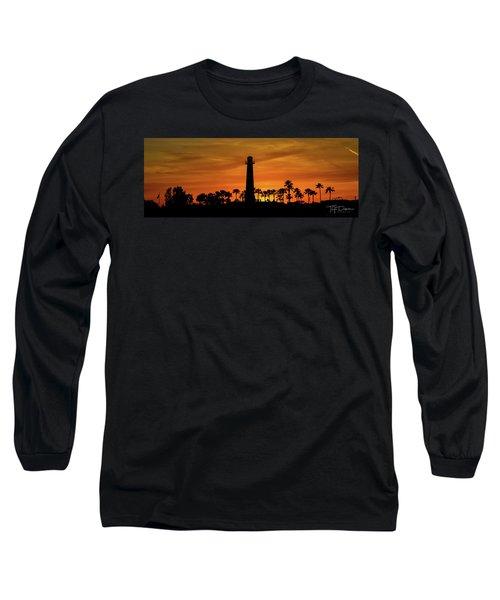 Long Beach Lighthouse Long Sleeve T-Shirt