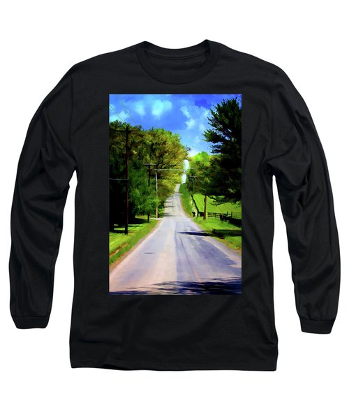Long Road Ahead Long Sleeve T-Shirt