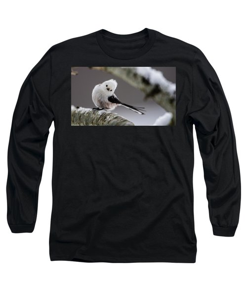 Long-tailed Look Long Sleeve T-Shirt