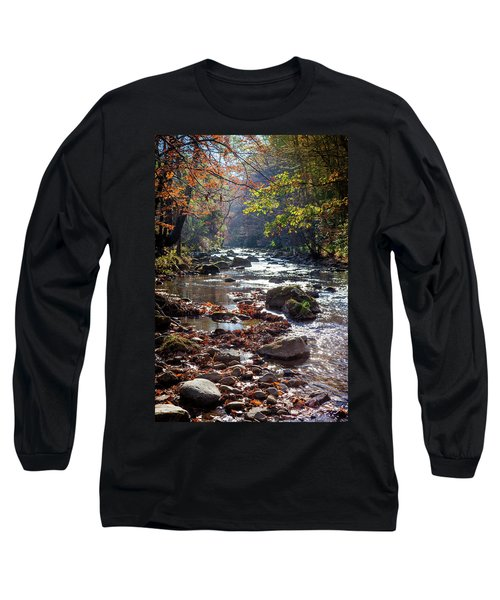 Long Sleeve T-Shirt featuring the photograph Longing For Home by Karen Wiles