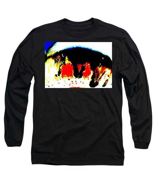 Look At Me Long Sleeve T-Shirt by Tim Townsend