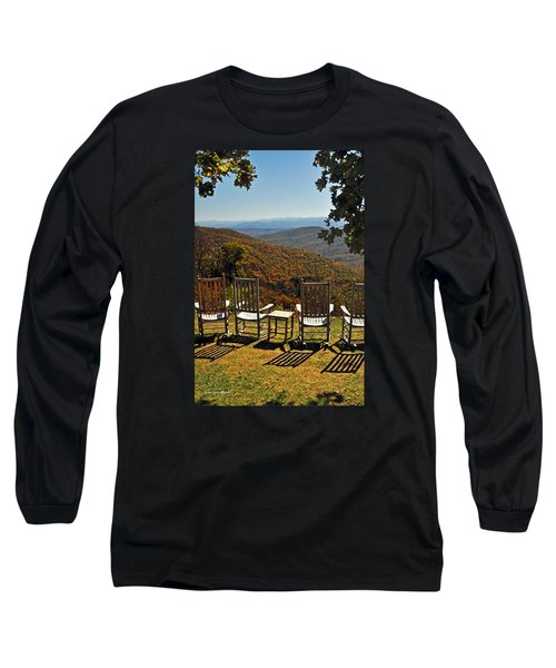 Relax And Enjoy Long Sleeve T-Shirt