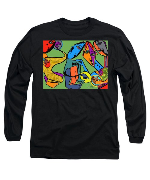 Look At This One Long Sleeve T-Shirt by Hans Magden