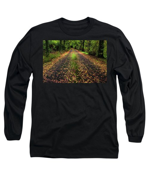 Looking Down The Lane Long Sleeve T-Shirt