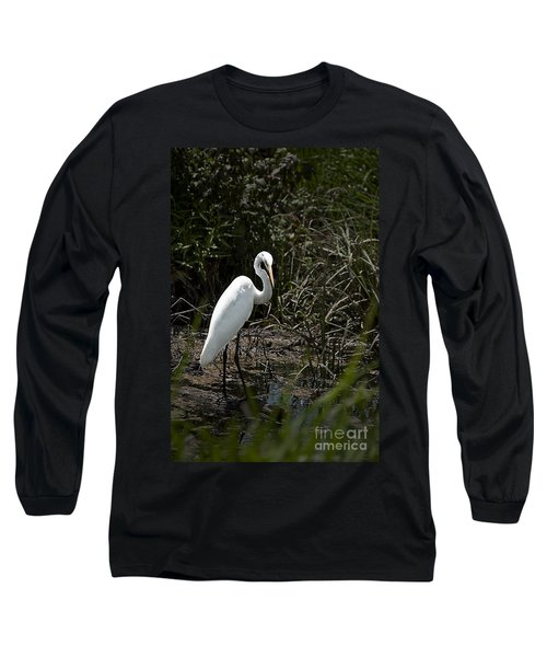 Long Sleeve T-Shirt featuring the photograph Looking For Lunch by Tamyra Ayles