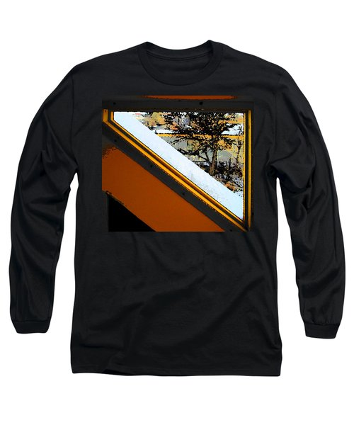 Looking Out My Brothers Window Long Sleeve T-Shirt by Lenore Senior