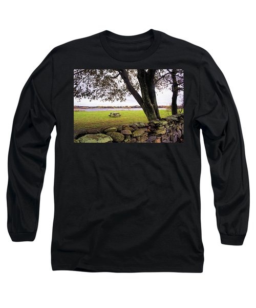 Looking Over The Wall Long Sleeve T-Shirt