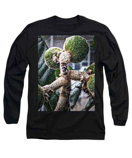 Loquat Man Photo Long Sleeve T-Shirt