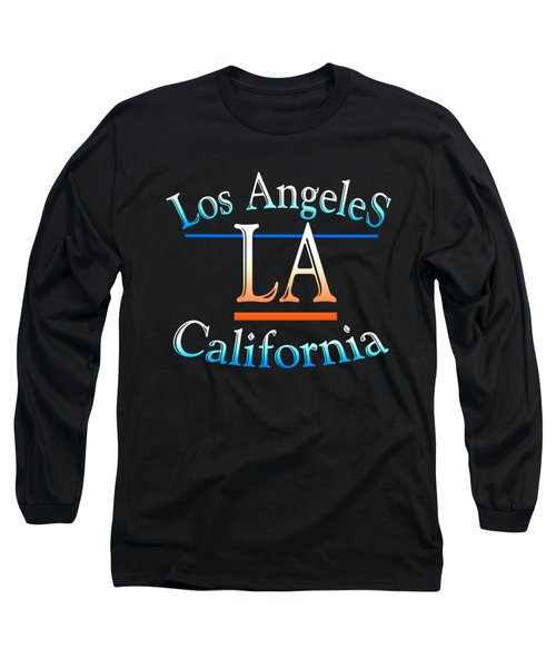 Los Angeles California Design Long Sleeve T-Shirt