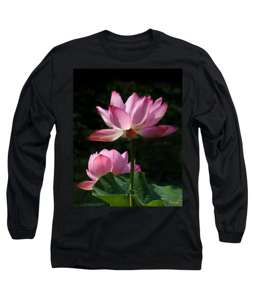 Lotus Beauties--upstaged Dl048 Long Sleeve T-Shirt