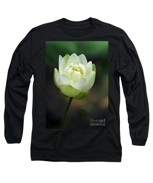 Lotus Blooming Long Sleeve T-Shirt